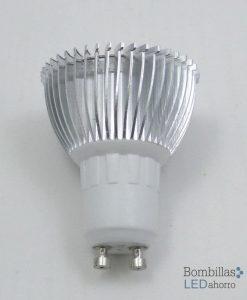 Bombilla LED Dicroica GU10 3W 3
