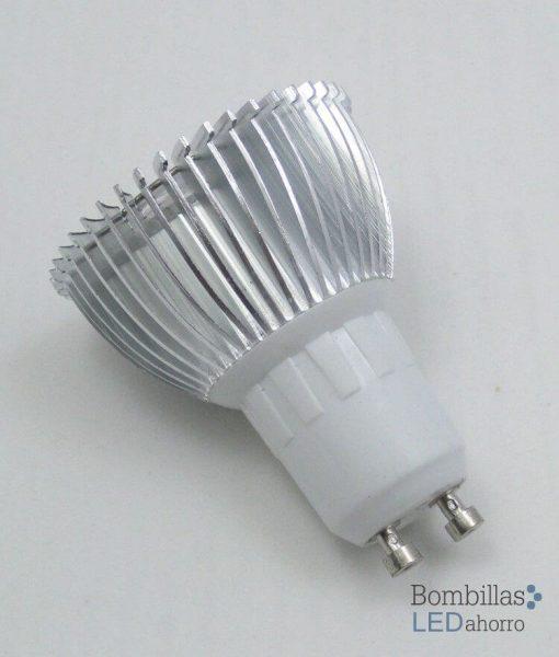 Bombilla LED Dicroica GU10 3W 4