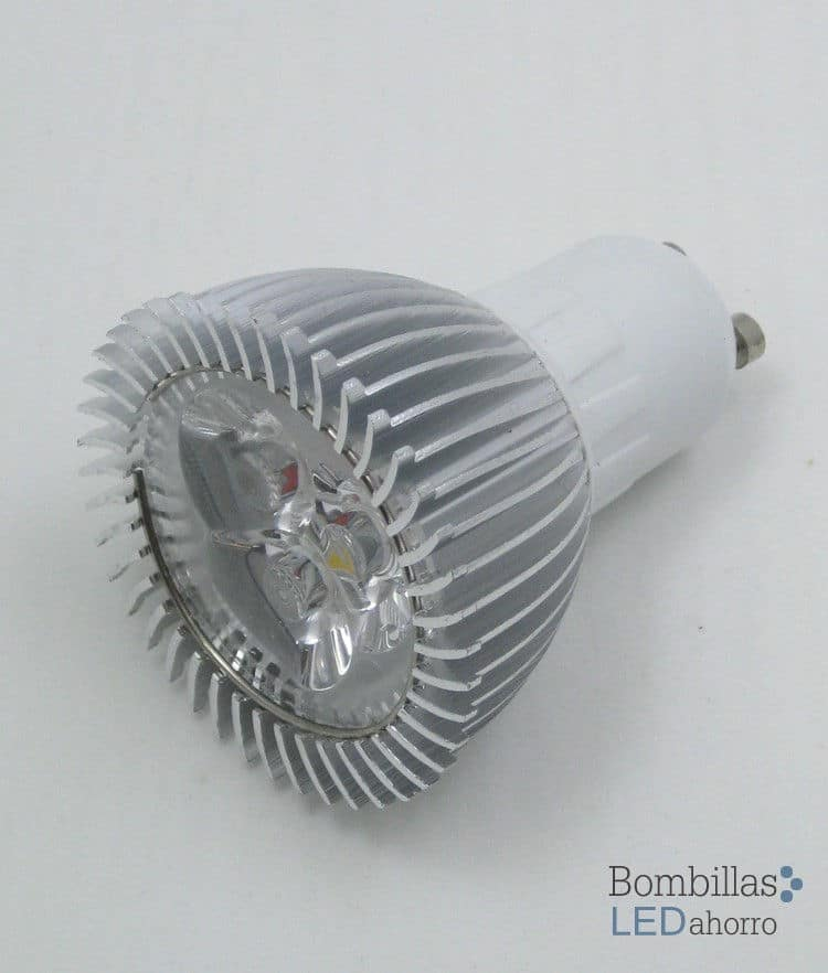 Bombilla LED Dicroica GU10 3W 5