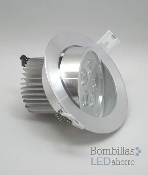 Foco techo led 7w bombillas led ahorro for Focos halogenos led