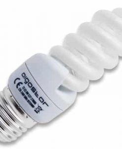 lampara espiral bajo consumo 9W