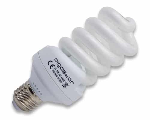 Lámpara espiral bajo consumo 26W