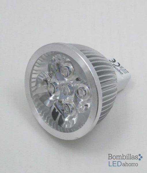 Bombilla LED dicroica MR16 4W 4