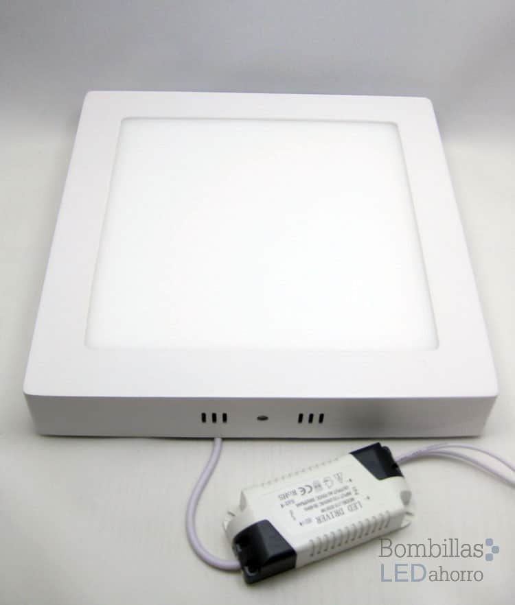 Downlight LED cuadrado 20W