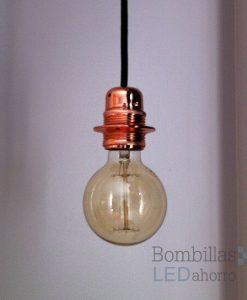 Lámpara decorativa vintage casquillo E27