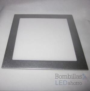 Downlight LED plateado de 20W: diseño y calidad