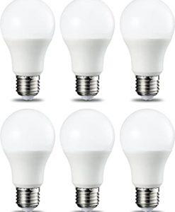 Bombilla LED estándar 9W E27 3000K o 6400K - Pack 6 unidades